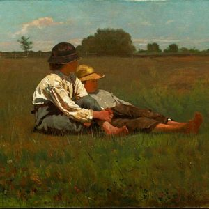 Winslow Homer, Boys in a Pasture, 1874