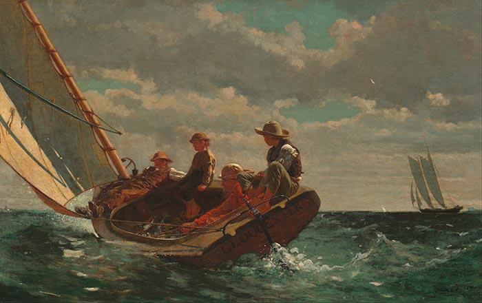 Winslow Homer, Breezing Up (A Fair Wind), 1876