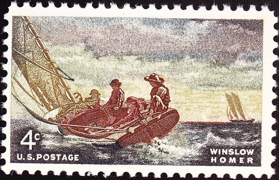 Winslow Homer, Commemorative Stamp of 1962