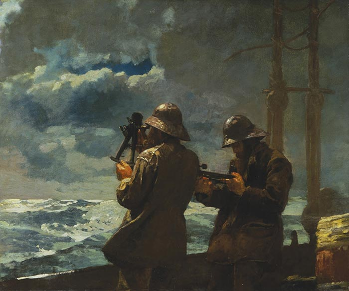 Winslow Homer, Eight Bells, 1886
