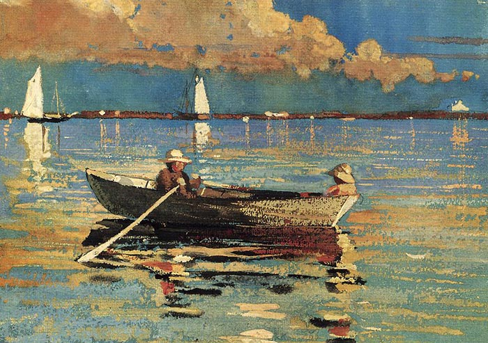 Winslow Homer, Gloucester Harbor, 1873