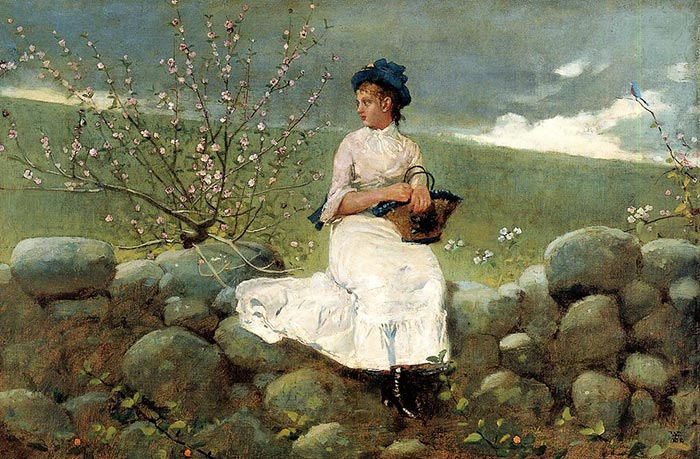 Winslow Homer, Peach Color, 1878