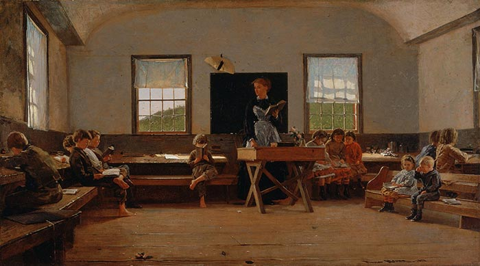 Winslow Homer, The Country School, 1871