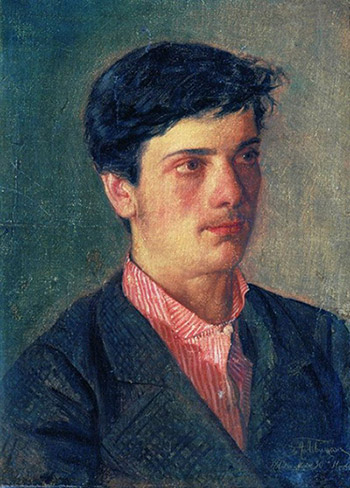 Adolf Levitan, Portrait of Isaac Levitan, 1879