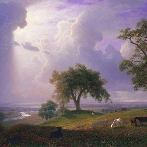 Albert Bierstadt, California Spring, 1875