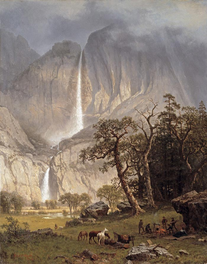 Albert Bierstadt, Cho-Looke, the Yosemite Fall, 1864