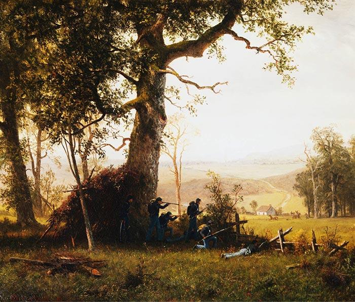 Albert Bierstadt, Guerrilla Warfare, 1862