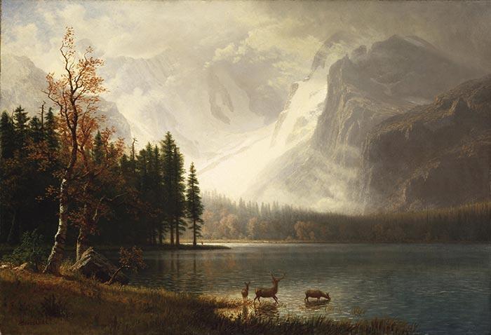 Albert Bierstadt, Whyte's Lake, c.1877
