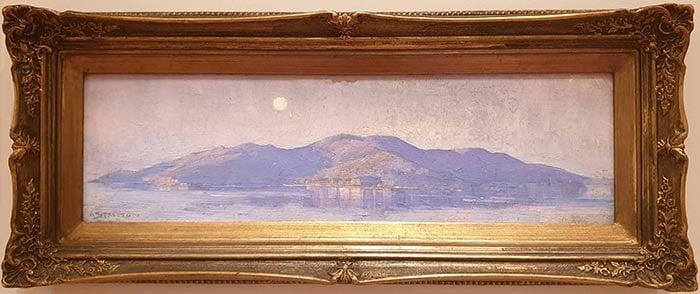 Arthur Streeton, Magnetic Island (Moonlight, Magnetic Island), 1924