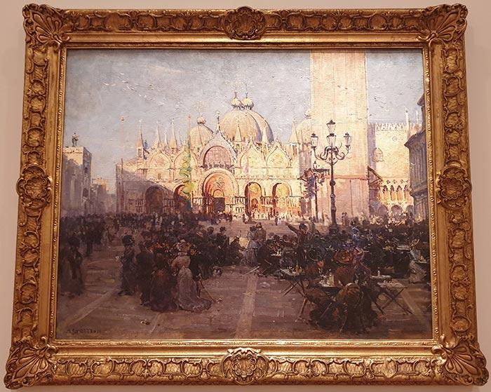 Arthur Streeton, St. Mark's, Venice, 1908