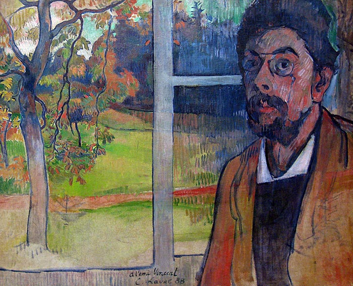Charles Laval, Self-Portrait, 1888