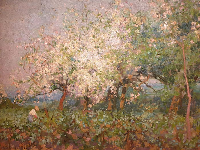 Emanuel Phillips Fox, Apple Blossom, c.1905