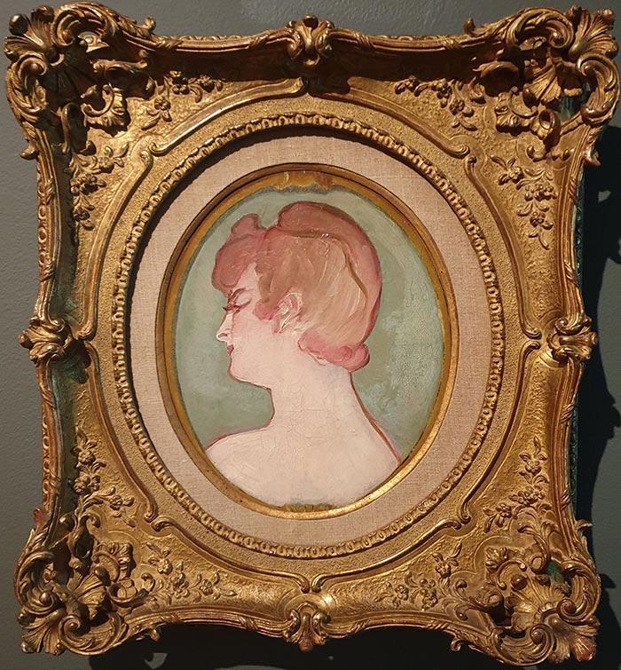 Henri de Toulouse-Lautrec, Head of a Girl (Tète De Fille), 1892