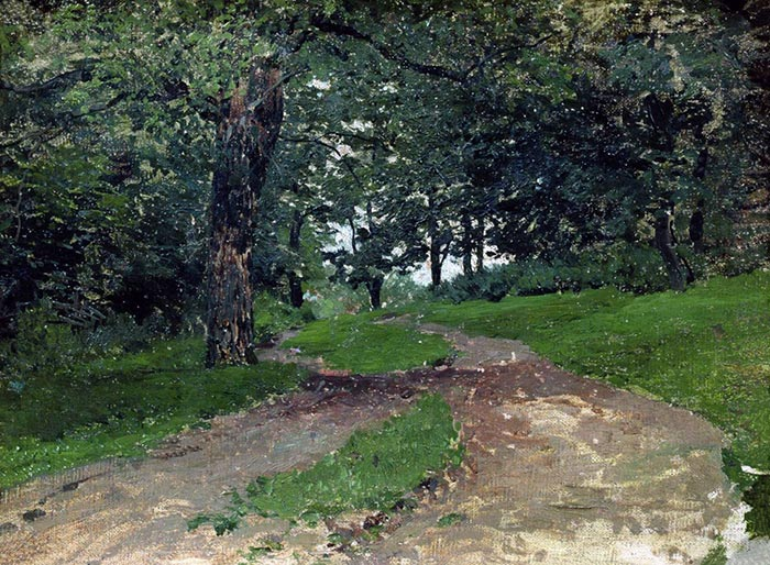 Isaac Levitan, Forest, 1880