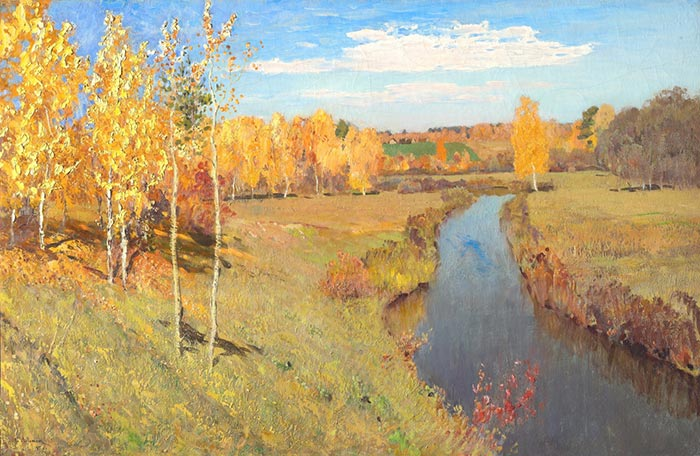 Isaac Levitan, Golden Autumn, 1895