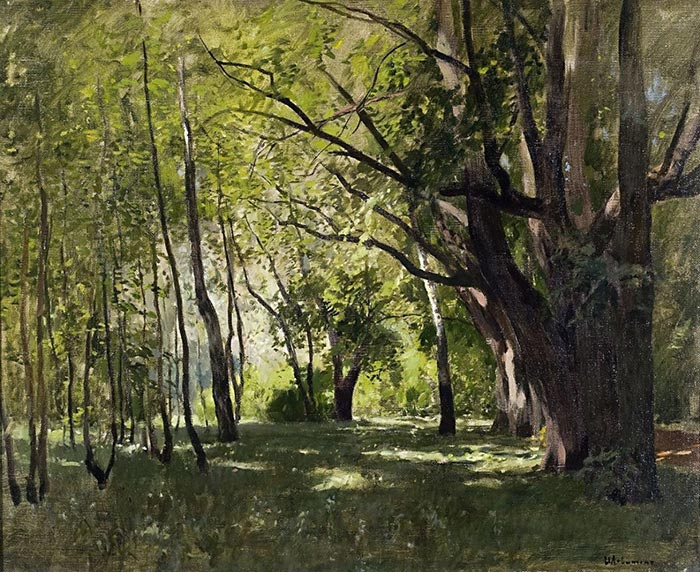 Isaac Levitan, In the Park, 1895