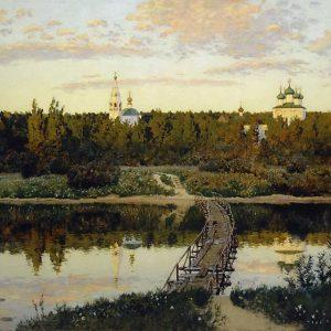 Isaac Levitan, Silent Abode, 1890