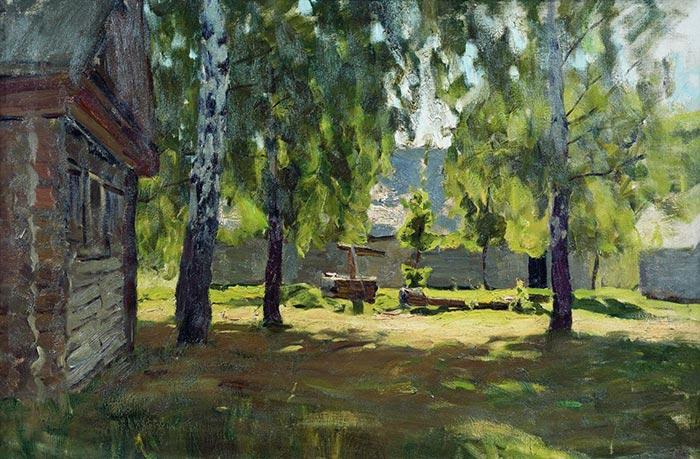 Isaac Levitan, Sunny Day, 1898