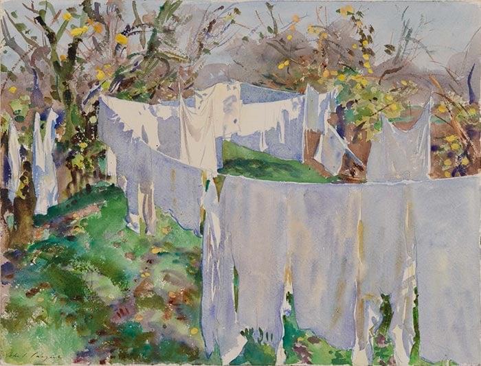 John Singer Sargent, Laundry, 1910