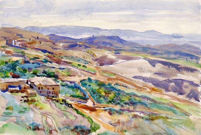 John Singer Sargent, Sicily, 1901