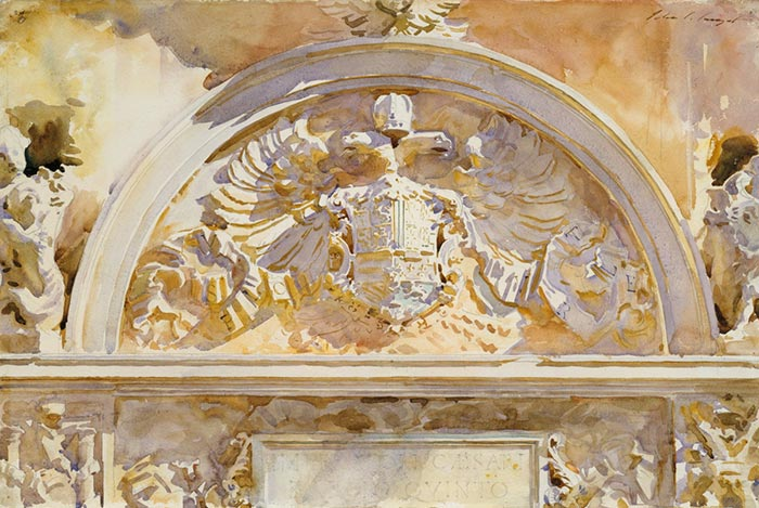 John Singer Sargent, The Coat of Arms of Charles V, King of Spain, 1912
