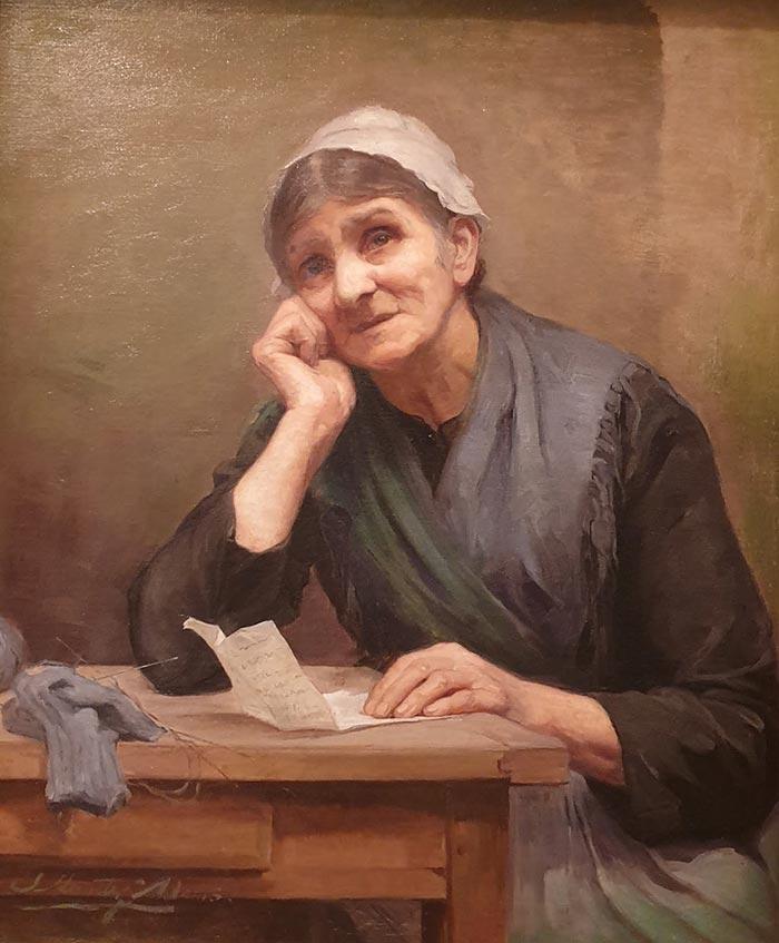 Josephine Müntz-Adams, Care, c.1893