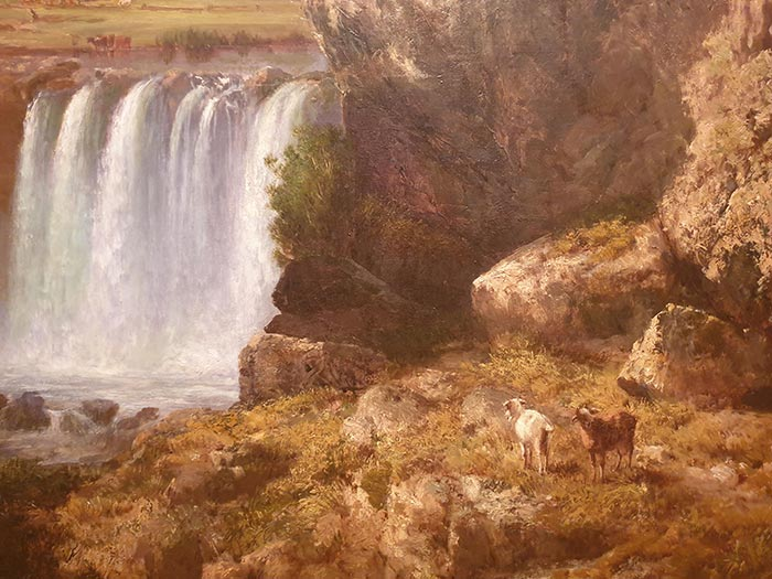 Louis Buvelot, The Wannon Falls, 1868 (1)