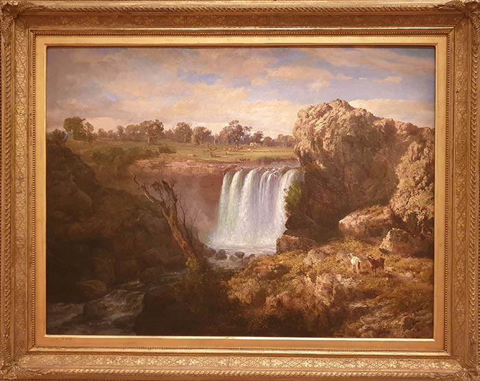 Louis Buvelot, The Wannon Falls, 1868