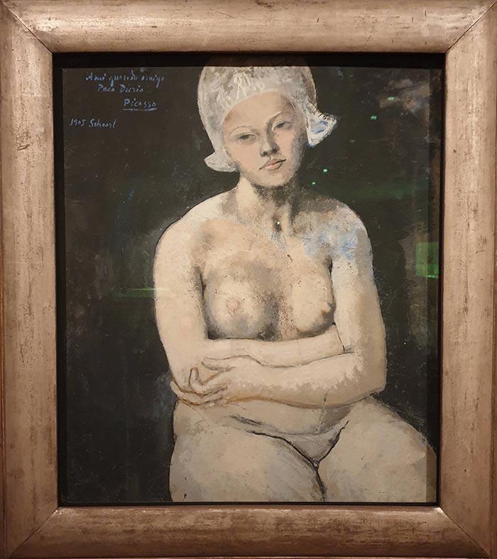 Pablo Picasso, La Belle Hollandaise, 1905
