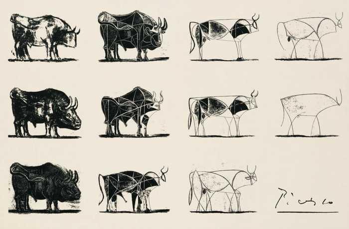 Pablo Picasso, The Bull, 1945