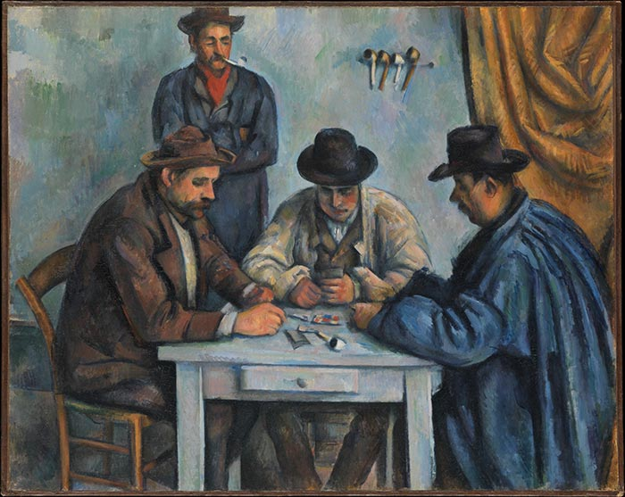 Paul Cézanne, The Card Players, 1890-1892