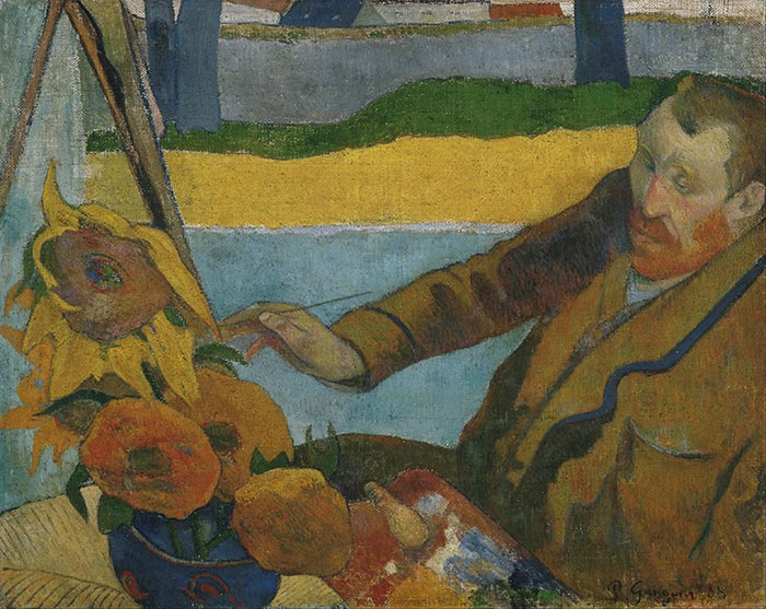 Paul Gauguin, The Painter of Sunflowers, 1888