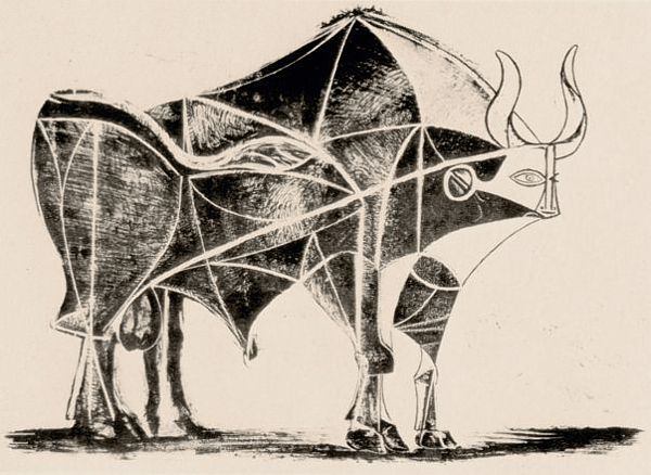 Picasso Bull 5