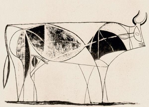 Picasso Bull 8