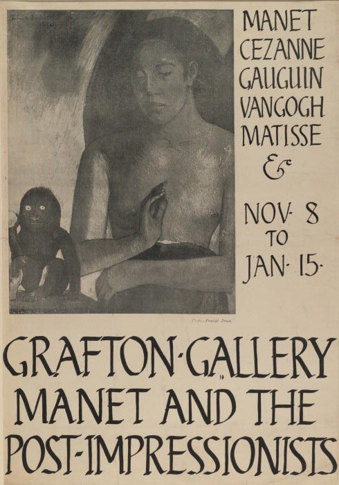Poster for Manet and the Post-Impressionists