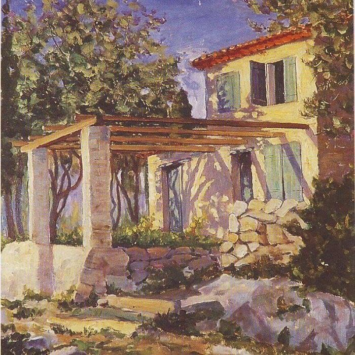 Sir Winston Churchill, The Gardener's House on the Estate of Madame Balzan
