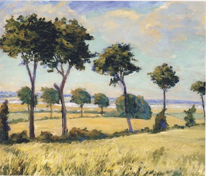 Sir Winston Churchill, Trees near Breccles