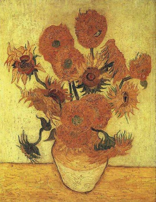 Vincent van Gogh, Sunflowers, 1889 (Second Copy of Forth Version)