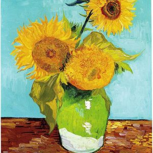 Vincent van Gogh, The Arles Sunflowers, August 1888 (First Version)