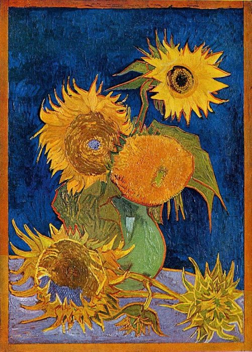 Vincent van Gogh, The Arles Sunflowers, August 1888 (Second Version)