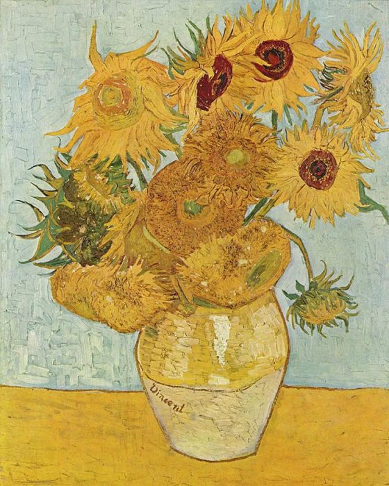 Vincent van Gogh, The Arles Sunflowers, August 1888 (Third Version)