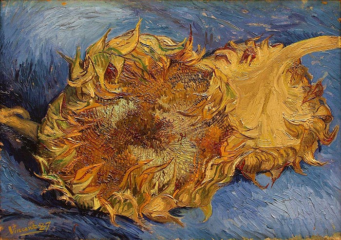 Vincent van Gogh, The Paris Sunflowers, 1887 (2)