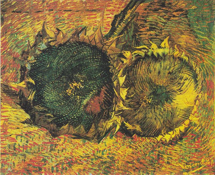 Vincent van Gogh, The Paris Sunflowers, 1887 (3)