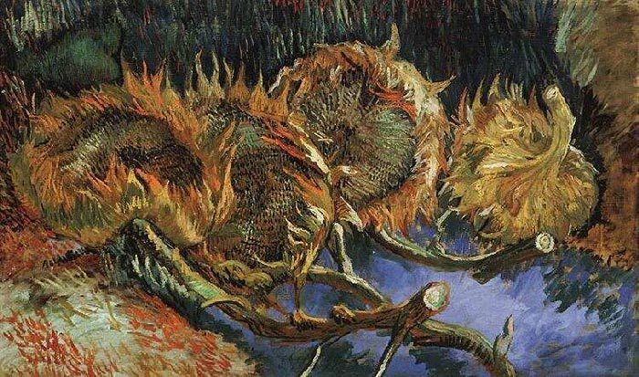 Vincent van Gogh, The Paris Sunflowers, 1887 (4)