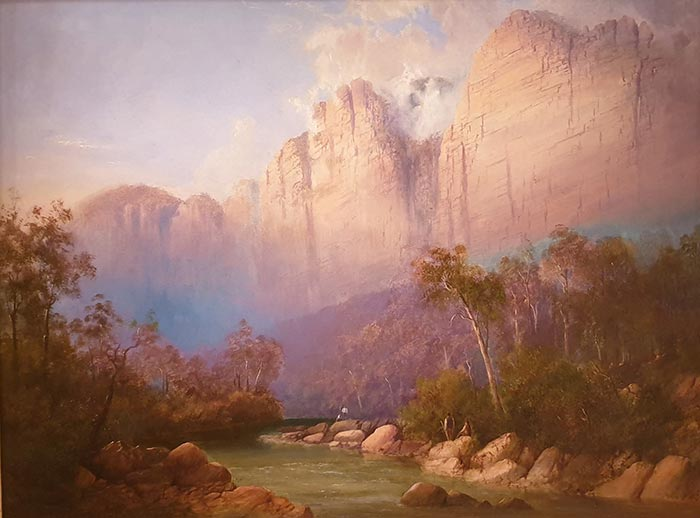 William Charles Piguenit, Valley of the Grose, 1876