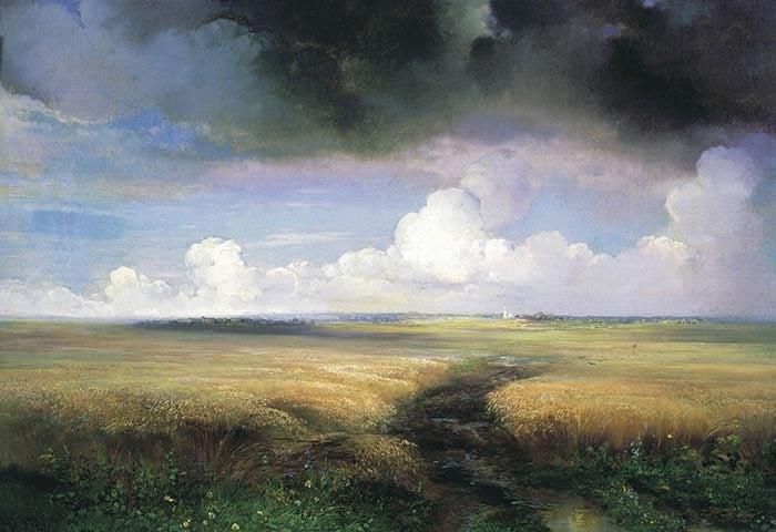 Alexey Savrasov, Rye, 1881