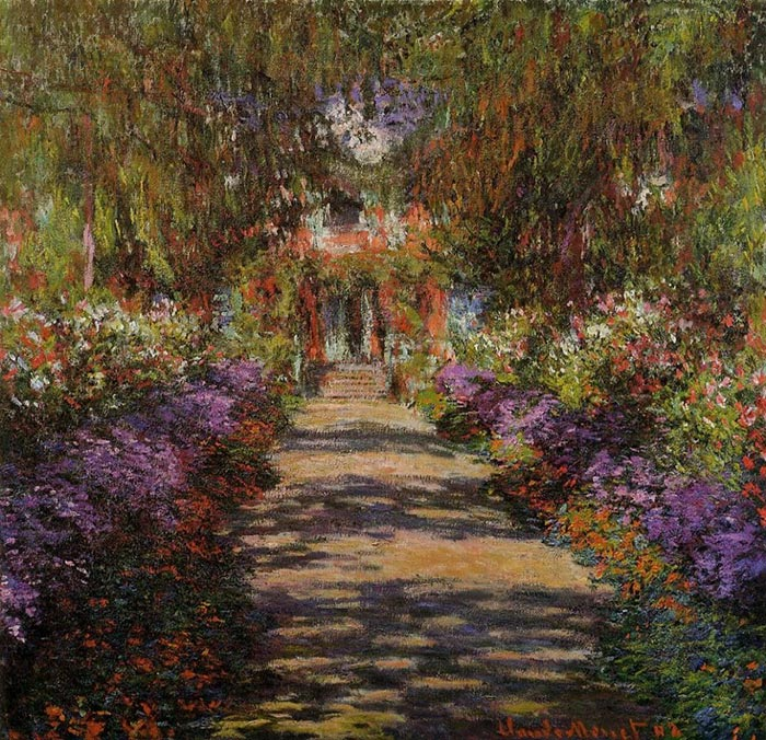Claude Monet, Garden Path, 1901