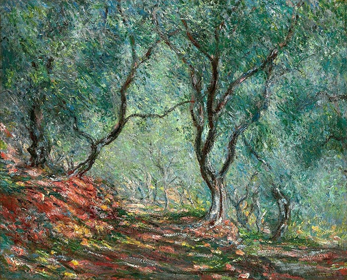 Claude Monet, The Olive Grove in the Moreno Garden, 1884