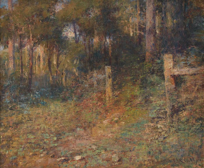 Frederick McCubbin, The Edge of The Forest, 1911