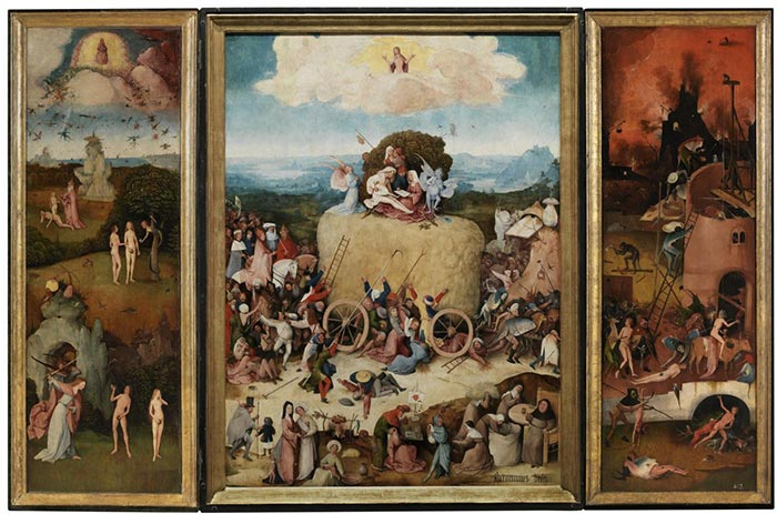 Hieronymus Bosch, The Hay, 1515
